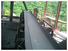 MINING INDUSTRY SKIRTBOARD RUBBER